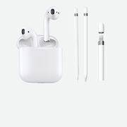 Headphone & pencil