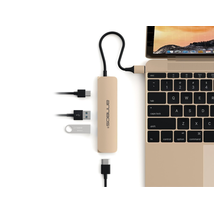 USB C Hub ANNBOS A022BH4  Multiport Adapter Aluminum 4-Port