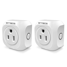 ANNBOS WiFi Outlet Smart Plug Compatible with Alexa, Google home
