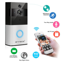 ANNBOS Smart doorbell wireless wifi detection real time