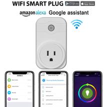 Ổ cắm MXQ Wifi Smart Socket Power Plug 110V-EU UK Plug