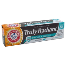 Arm & Hammer Toothpaste Truly Radiant Bright & Strong 4.3oz
