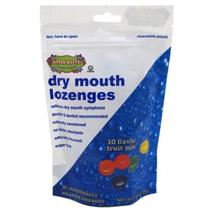 Cotton Mouth Lozenges Fruit Mix Bag 3.3oz Drug Store Pack