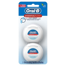 Oral-B 54 Yards Floss Mint Twin Pack (6 Pieces)
