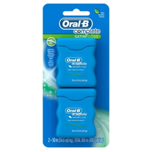 Oral-B 54 Yards Floss Satin Mint Twin Pack (6 Pieces)