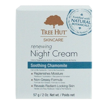Tree Hut Night Cream Renewing 2oz Jar (Chamomile)