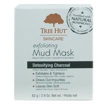 Tree Hut Mud Mask Exfoliating 2.9oz (Detoxifying Charcoal)