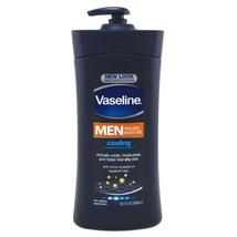 Vaseline Mens 24-Hour Moisture Lotion Cooling 20.3oz