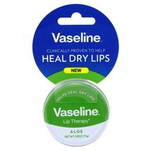 Vaseline Lip Therapy Aloe 0.6oz Tin Hangtag (8 Pieces)