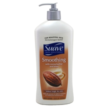 Suave Skin Lotion 18oz Pump Smoothing Cocoa Butter & Shea