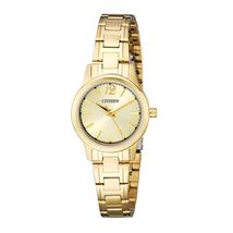 Đồng hồ Citizen Women's EL3032-53P Analog Display Japanese Quartz Gold Watch