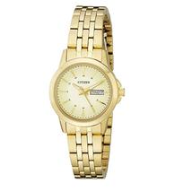 Đồng hồ Citizen Women's Quartz Watch with Day/Date, EQ0603-59P