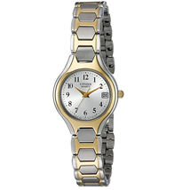 Đồng hồ Citizen Women's Two-Tone Stainless Steel Easy Reader Watch