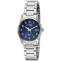 Đồng hồ Citizen EU-6000-57L Womens Quartz Watch Silver 27mm Stainless Steel Band