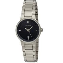 Đồng hồ Citizen Women's Quartz Stainless Steel Watch with Date, EU6010-53E