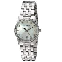 Đồng hồ Citizen Women's Quartz Crystal Accent Watch with Date, EU6030-56D
