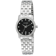 Đồng hồ Citizen Women's Quartz Watch with Crystal Accents and Date, EU6030-56E