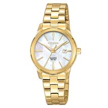 Citizen EU6072-56D Women's Quartz MOP Dial Yellow Gold Steel Watch