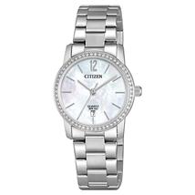 Đồng hồ Citizen EU6030-81D Women's Quartz Swarovski Crystal MOP Dial Watch