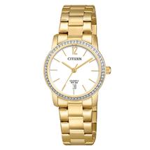 Đồng hồ Citizen EU6032-85A Women's Quartz Yellow Gold Steel Crystal Watch