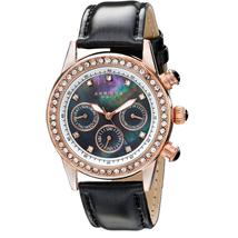 Đồng hồ nữ Akribos XXIV Womens AK556BKR Multi-Function Dazzling Strap Watch
