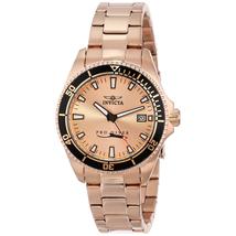 Đồng hồ nữ dây kim loại USA Invicta 15137SYB (Vàng)