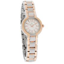 Đồng hồ nữ dây thép không gỉ Bulova Fairlawn Women's Quartz Watch 98L153 (Vàng)