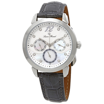 Đồng hồ nữ Lucien Piccard Women's 'Rivage' Quartz Stainless Steel and Leather Casual Watch