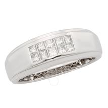 CYA K Certified Diamond Men's Ring .50ct 14k White Gold R123915