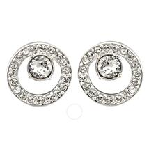 Swarovski Creativity Small Rhodium-Plated Earrings 5201707
