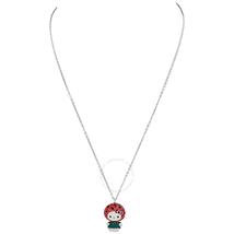 Swarovski Swarovski Hello Kitty Pendant Multi Colored Rhodium Plated Necklace 5373134