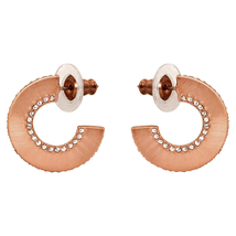 Swarovski Hoop Fever Round Pierced Earrings 5352007