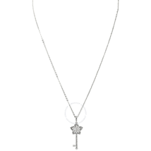 Swarovski Lady Flower-Shaped Key Pendant 5365276