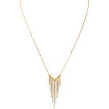 Swarovski Lyrebird Gold Tone Metal Plated Necklace 5381227