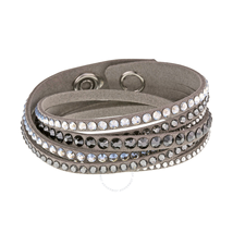 Swarovski Slake Deluxe Gray Bracelet 5021033