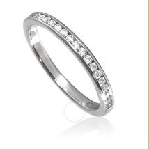 Tiffany & Co. Ladies  Diamond Wedding Band, Size  7 18409011