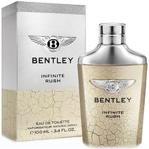 Bentley Fragrances Bentley Infinite Rush by Bentley Fragrances EDT Spray 3.4 oz (100 ml) (m) BYIMTS34