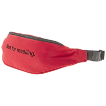 "F.A.M.T. Men's Waist Bag Red Bum Bag ""Not For Resell"" FAMTBUM BAG RES Red"