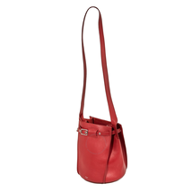 Celine Big Bag Bucket with Long Strap in Smooth Calfskin- Red 183343A4T.27ED