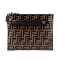 Fendi Men's Embossed Small Messanger 7VA437-A4K5-F0H3C