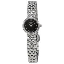 Tissot Lovely Black Dial Stainless Steel Ladies Watch T0580091105100 T058.009.11.051.00