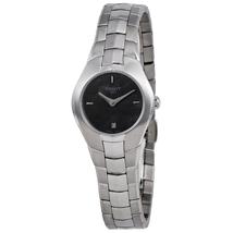 Tissot T Trend T Round Black Dial Ladies Watch T096.009.11.121.00