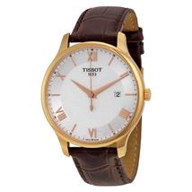 Tissot Tradition Gents Quartz Silver Dial Men's Watch T0636103603800 T063.610.36.038.00