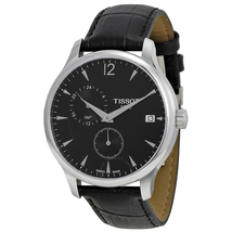 Tissot Tradition GMT Black Dial Men's Watch T063.639.16.057.00