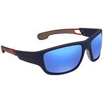 Carrera Blue Square Unisex Sunglasses 4008/S 0RCT 60