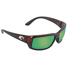 Costa Del Mar Fantail Green Mirror Polarized Medium Fit Sunglasses TF 10 OGMP TF 10 OGMP