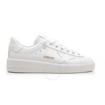 Golden Goose Deluxe Brand Purestar White Sneakers G36WS603.A2