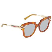 Gucci Gucci Blue Grey Cat Eye Ladies Sunglasses GG0281S 003 50 GG0281S 003 50