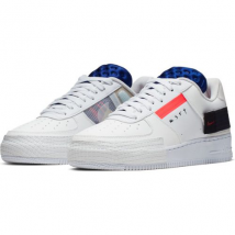 Giày Nike Air Force 1 'Type' Summit White, Red & Black Size 37.5