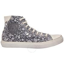 Saint Laurent Ladies Sneaker Hitop Skull Moon 553569 94C10 1661